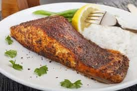 blacken salmon