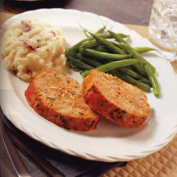 Southwest Barbecue or Italian Seasoned Meatloaf Sides