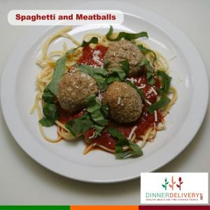 Spaghetti and Meatballs - Healthy Meals Delivered